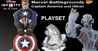 Unboxing Marvel Battlegrounds mit Captain America und Ultron – Eva und Frank