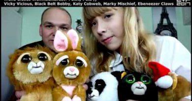 Trend dieses Weihnachtsfest? Feisty Pets – Löwe, Katze, Panda, Hase und Xmas Bär